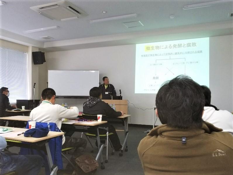 島本微生物農法の研修に参加!!